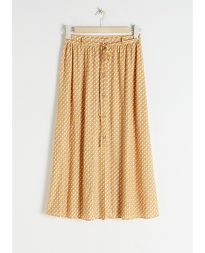 e4518d4bf0ff01 Geometric Print Midi Skirt by & Other Stories