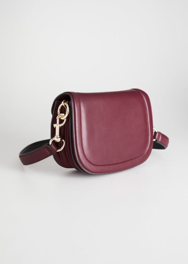 5eb51fa0fe02 Leather Mini Saddle Bag