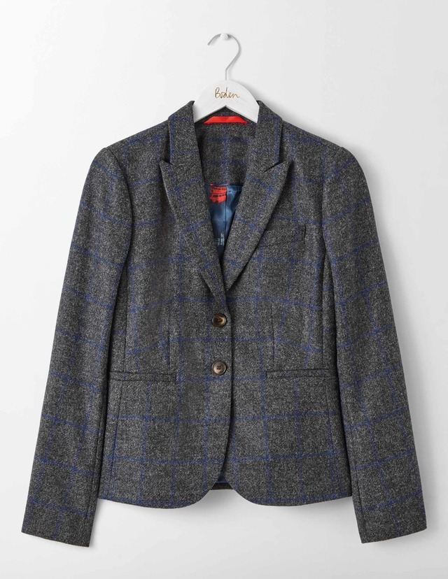 Elizabeth british tweed blazer endource for British boden