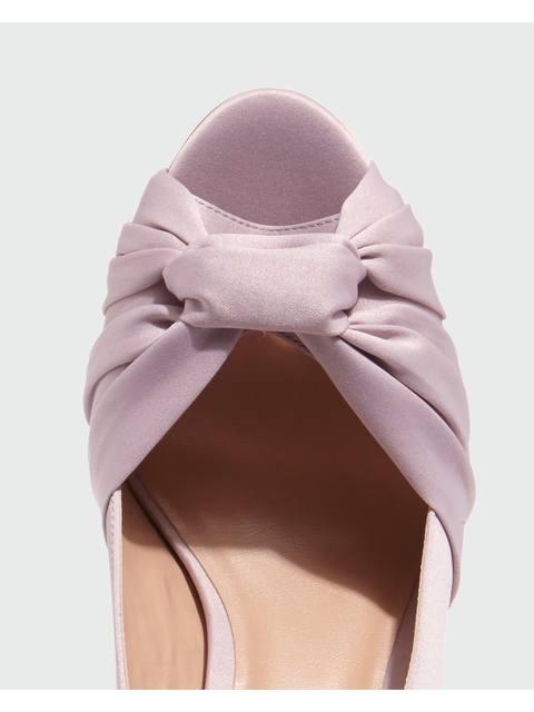 8fd963c8acc1 Rhia Knot Slingback Peeptoe Shoes