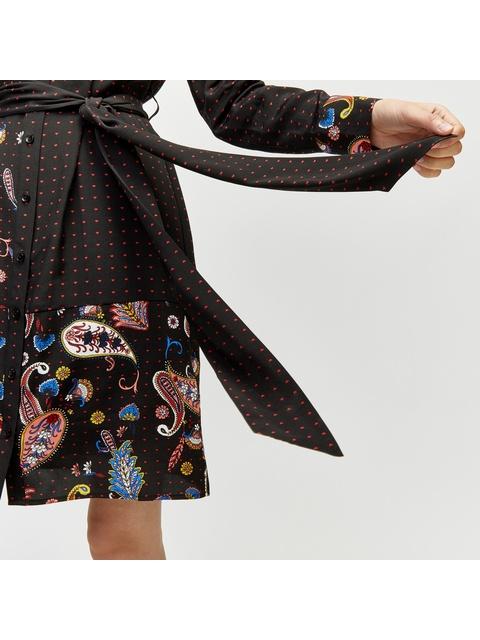 1625970a6f2 Cutabout Paisley Shirt Dress