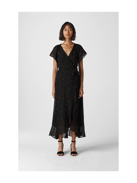 1f4a6fc2 Heart Embroidered Maxi Dress   Endource