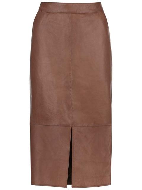 a4801971fa Leather Pencil Skirt