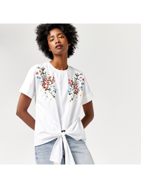 81418559c2c215 Freida Embroidered Top