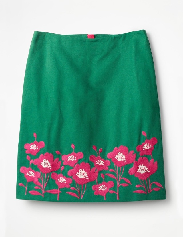 Boden Fun Embroidered Skirt Women Boden Cheap Sale Original Clearance Outlet Locations Buy Cheap 2018 Cheap 2018 Newest CwswUV