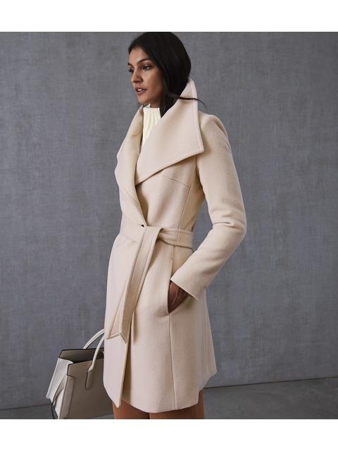 Luna Wool Self Tie Coat  790ab5084fb
