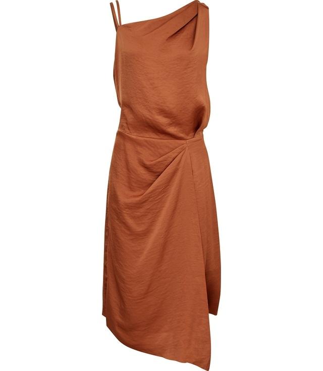 Ostia One-Shoulder Cocktail Dress | Endource