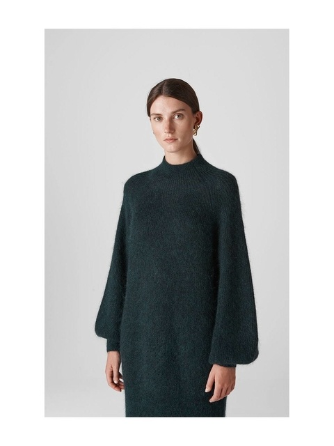 3ae5b78f676 Mohair Funnel Neck Tunic