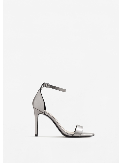 47c6d2fef Metallic Ankle-cuff Sandals