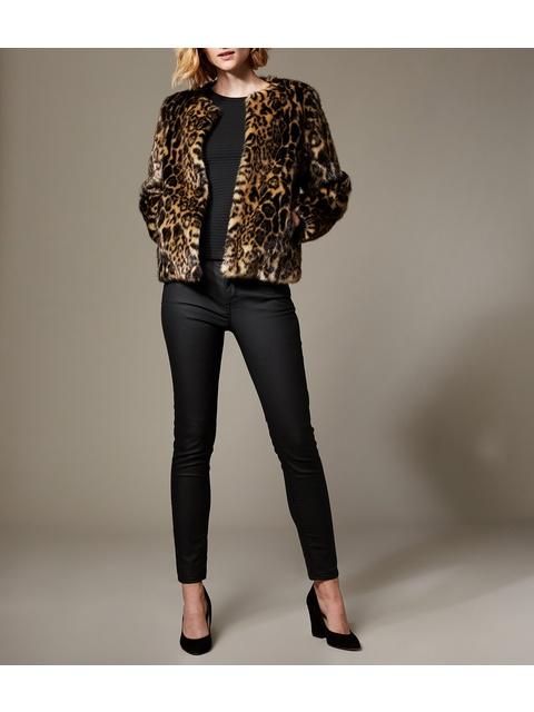 2b0681fd8d1d Faux Fur Leopard Jacket | Endource