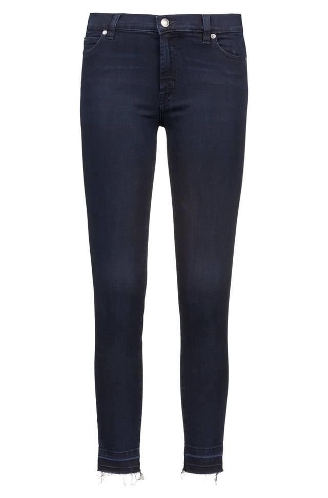 Extra-slim-fit mid-blue jeans in super-stretch denim HUGO BOSS x4KFaElCT