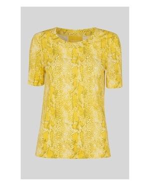 22b92992df072 Python Print Rosa T-Shirt by Whistles