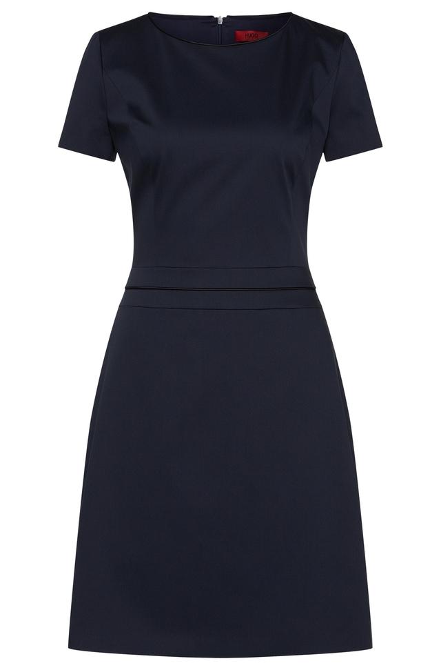 Long-sleeved dress with embellishments HUGO BOSS HiyXcU