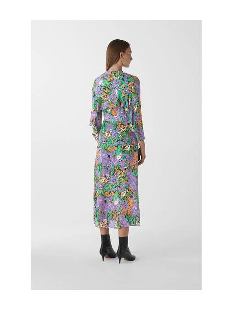 1ab0cd9045d862 Simone Floral Print Midi Dress