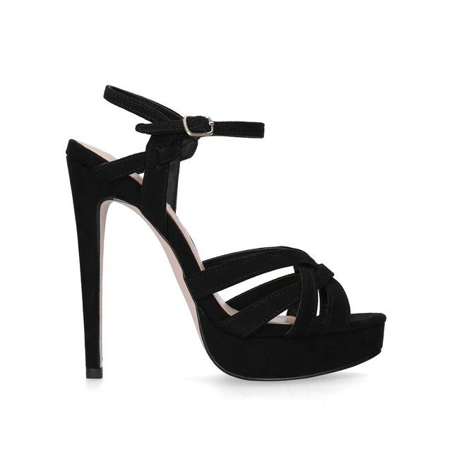Black 'Samia' high heel sandals for nice cheap price Byc9hn