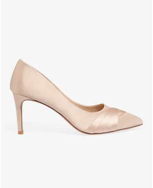 5b6604341cc Rosie Satin Court Shoes by Phase Eight