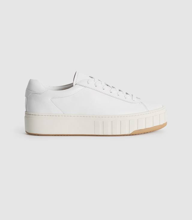 Dover Street Leather Flatform Trainers