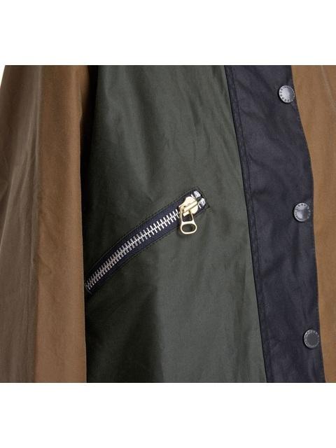 7dcb2714535f5 ALEXACHUNG Patch Waxed Cotton Jacket | Endource