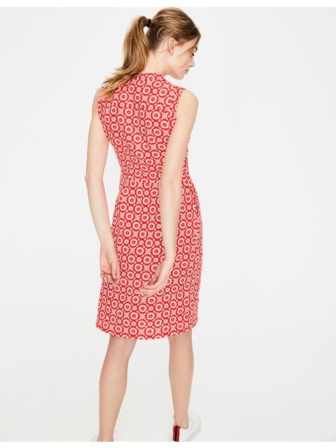 a12b1e193ae Linen Notch Neck Dress