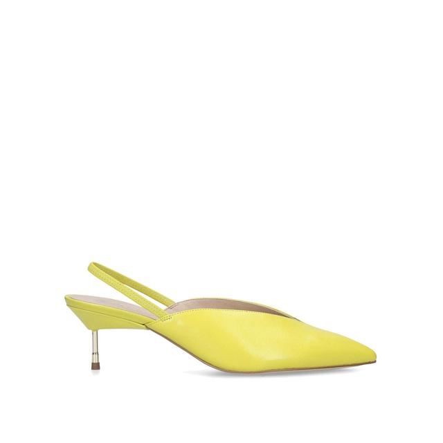 0cfbcb82ee5 Battersea Slingback Stiletto Heel Court Shoes