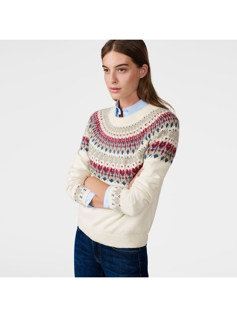 b6fda56c2 Fairisle Crew Sweater