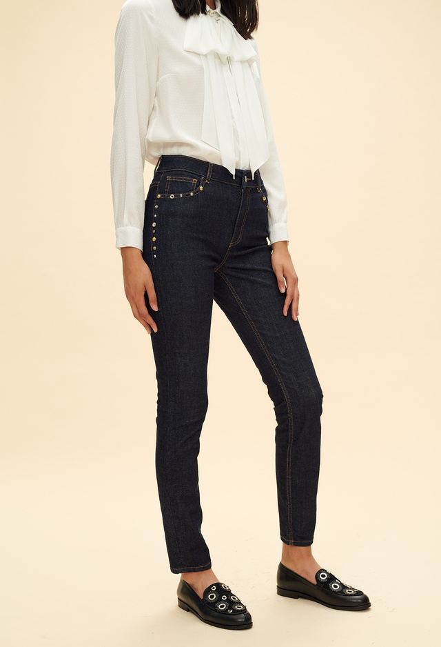 Raw Denim Slim Fit Jeans Endource