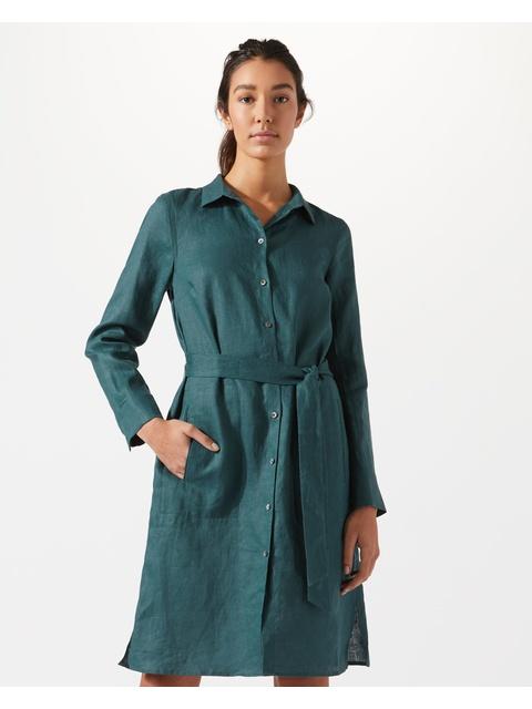 e0bac22c3d Linen Shirt Dress