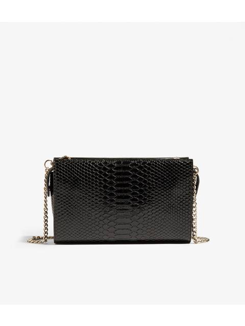 aa1bff39d77 Faux Snakeskin Crossbody Bag | Endource