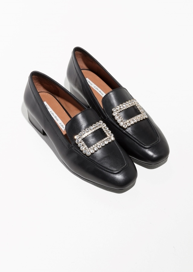 & OTHER STORIES Jewelled Loafer