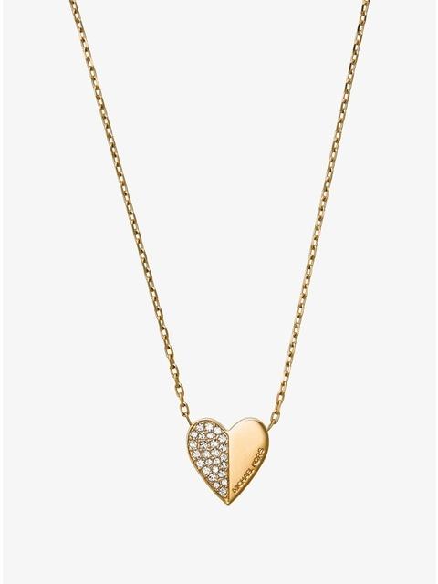 9eb13ce123c6 Pavé Heart Pendant Necklace