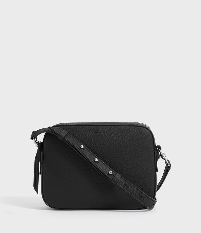 eb0537f7c Captain Lea Leather Square Crossbody Bag   Endource