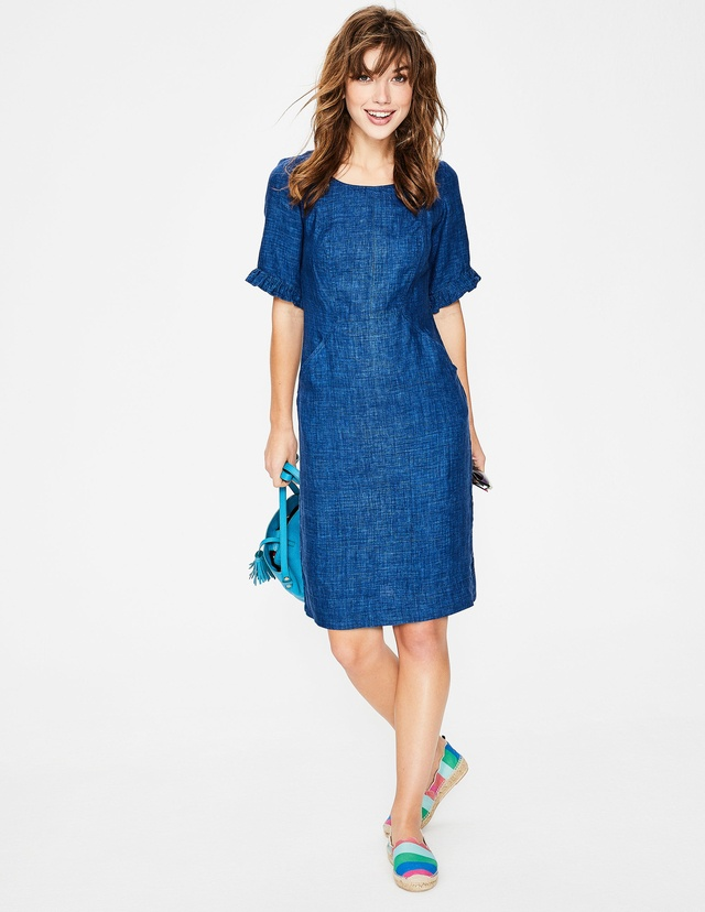5a848086b7 Addilyn Linen Dress