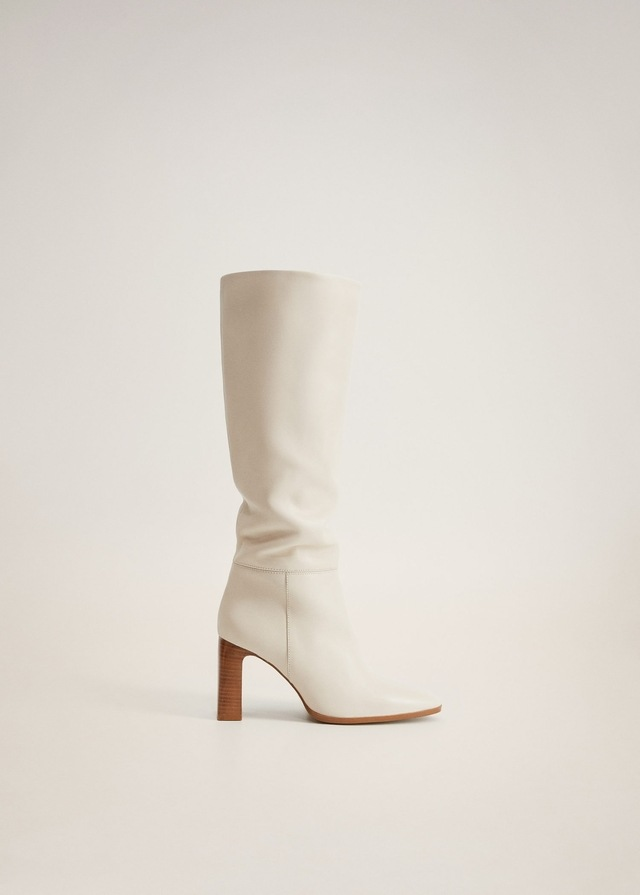 Leather Boots With Tall Leg   Endource