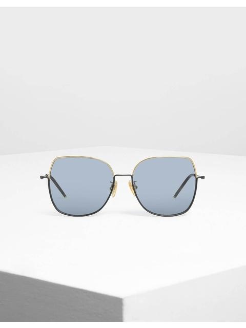 59a52fae6e Contrast Frame Sunglasses