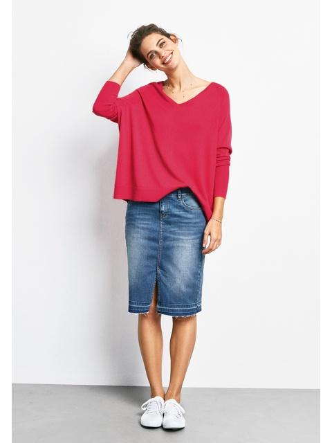 463b4fafb2 Denim Pencil Skirt   Endource