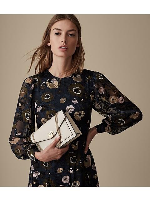 35e994f1587 Allie Floral Burnout Dress