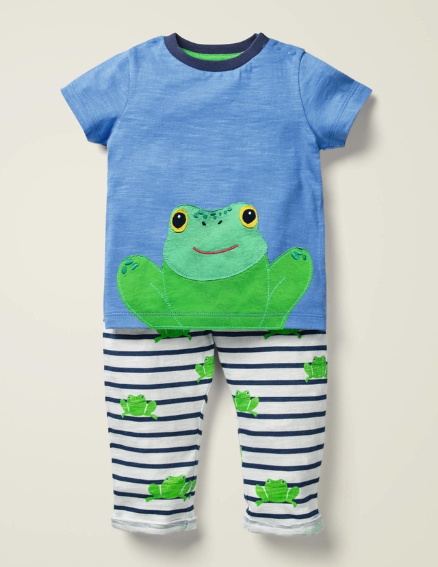 NEW MINI BABY Boden Boy/'s PEEK FLAP Snorkeling Seal Applique S//S T-Shirt  Blue