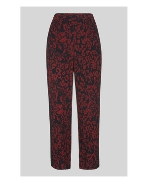 c26960920e28 Jungle Cat Print Crepe Trouser by Whistles