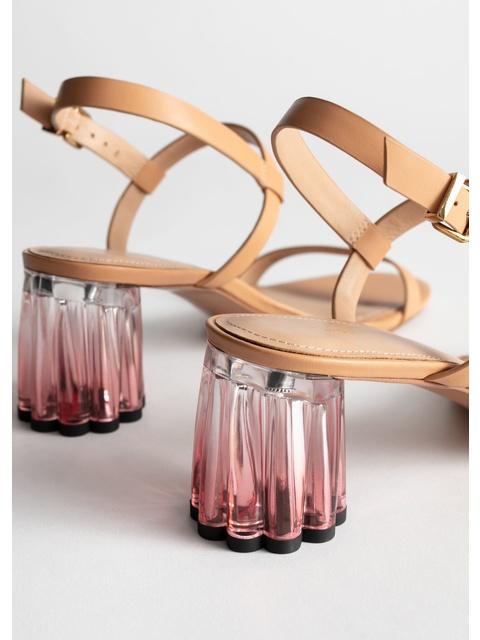Heeled Acrylic Heeled Acrylic Acrylic SandalsEndource Gradient Gradient Heeled SandalsEndource SandalsEndource Gradient Iybfgv76Y