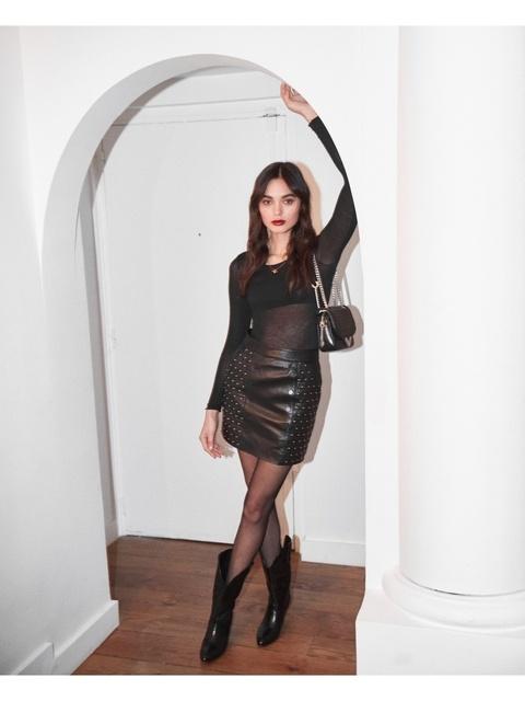 104edcaa3 Padded Leather Skirt | Endource