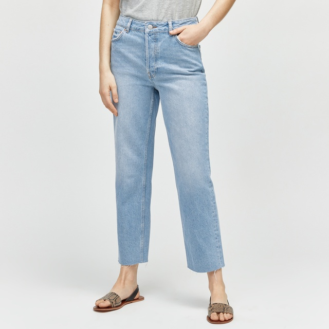 straight cut jeans endource