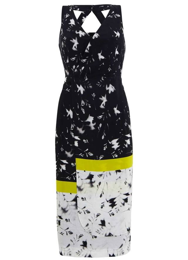 16e6b37990ad Robin Print Wrap Effect Dress | Endource