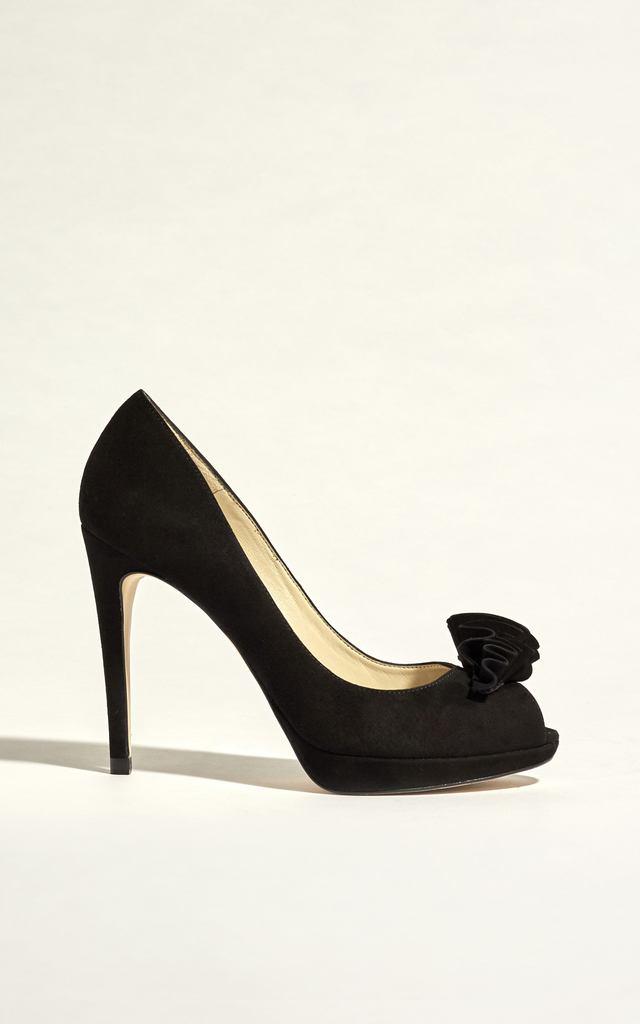 Karen Millen Peep Toe Shoe Boot