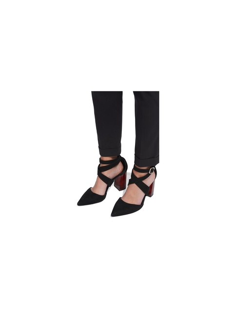 c05f81444a13 Taylor Cross Front Marble Heels