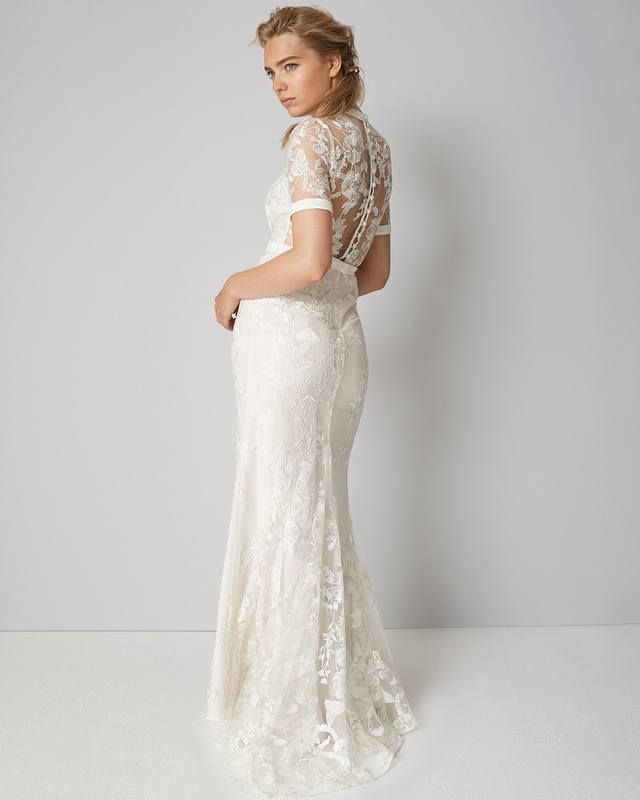 6c562fbeaff Poppy Embroidered Wedding Dress