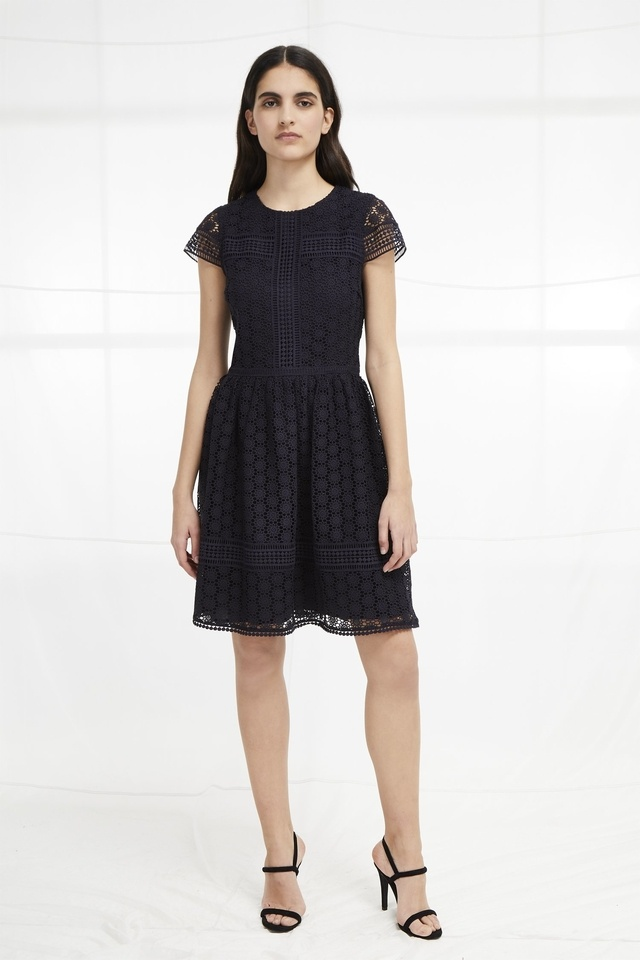8bd80d72cf Parker Lace Fit and Flare Dress