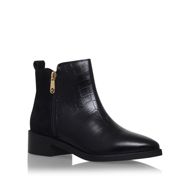sabre low heel ankle boots endource