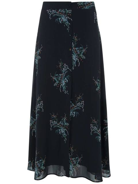 2b991fee7 Jane Print Maxi Skirt | Endource