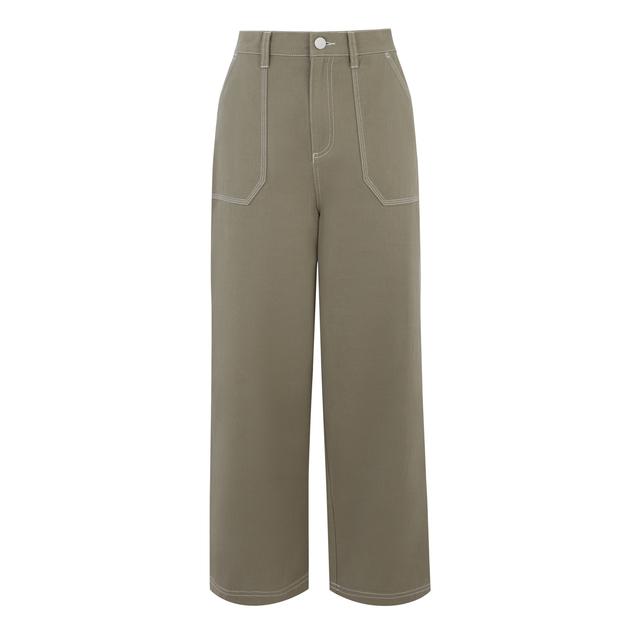 edd1e8b4839b Wide Cropped Trousers | Endource