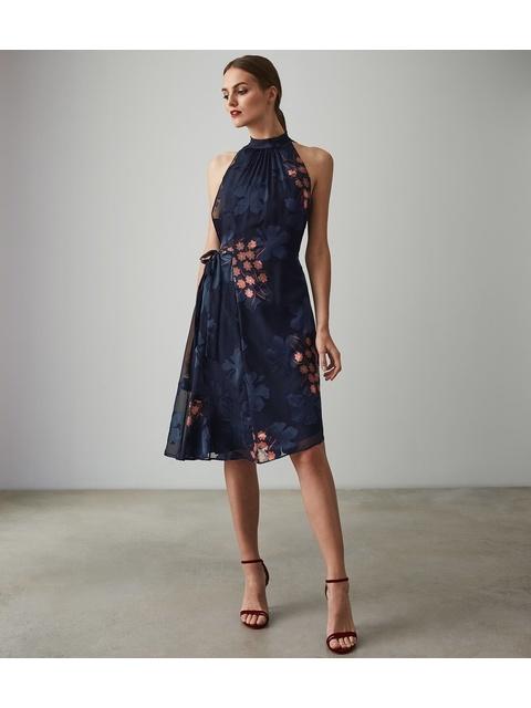 65c2bb11013 Lake Floral Burnout Dress